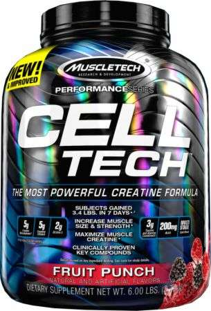 Muscletech Cell Tech 6lb 2 7kg Supplement King Nz